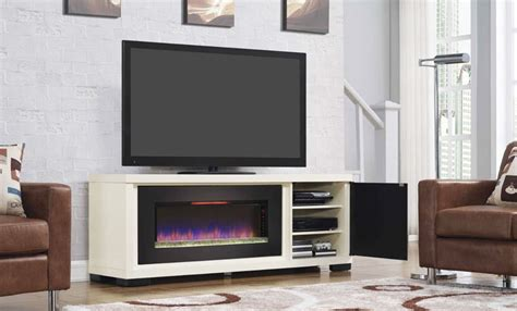 Small Tv Stand For Bedroom the best electric fireplaces to warm up your space