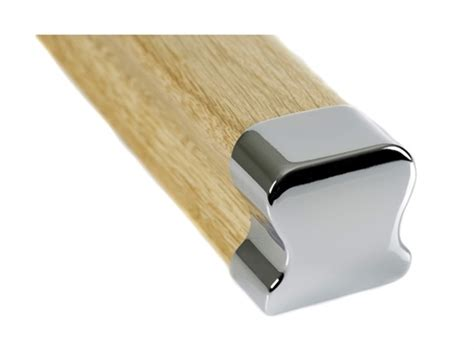 banister ends hdr chrome handrail end cap
