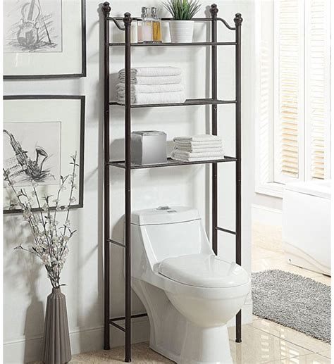 etagere bathroom bathroom etageres the toilet shelving