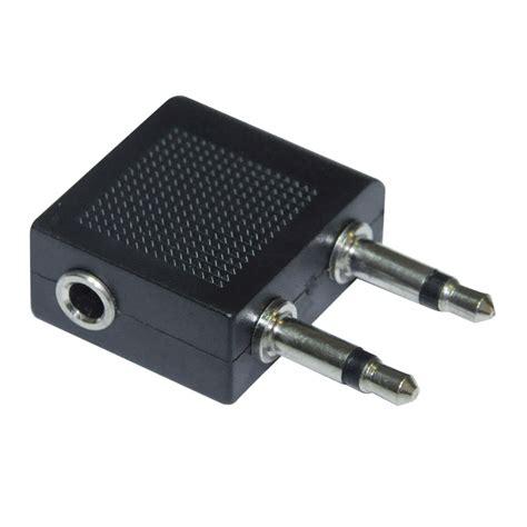 Diskon Headset Adss Colokan 3 5 Mm Earphone aeroplane 3 5mm headphone socket adaptor
