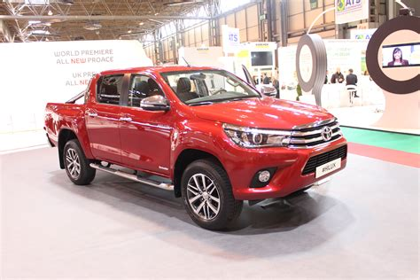 toyota hilux  red   cv show  commercial vehicle dealer
