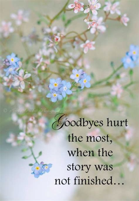 goodbyes hurt   grief support photoart mourning quotes forgotten quotes love quotes