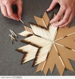 Lighting Cardboard Matches Diy Boho Elithmus