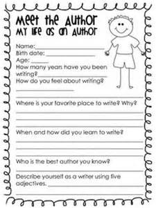 about the author template 1000 images about teaching on common cores