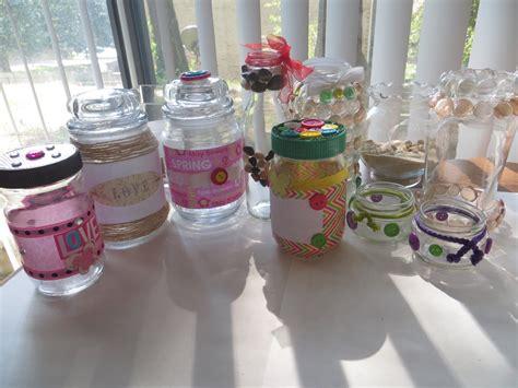 que puedo hacer con frasquitos de vidrio para un baby shower diy ideas para decorar frascos y botellas de vidrio
