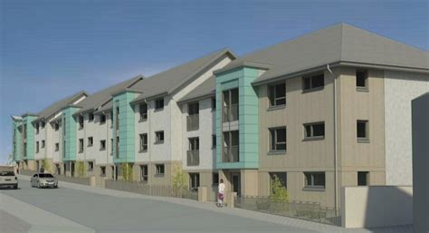 kinghorn residents protest against new council flats