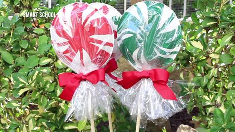 outdoor 8 diameter christmas lollipops how to make lollipops with paper plates