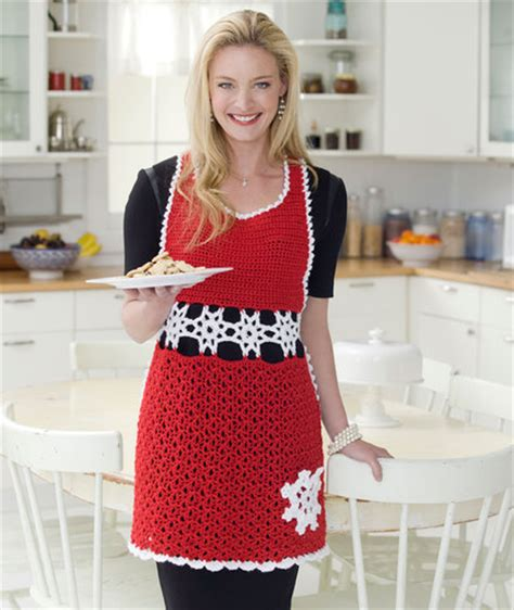 pattern for knitted apron pretty in the kitchen knit or crochet an apron free