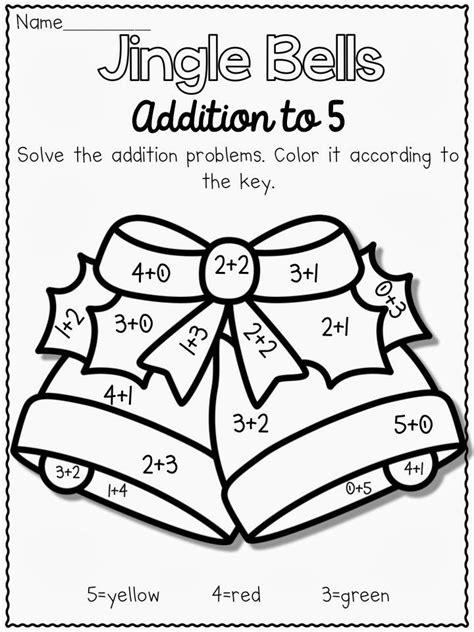 christmas tree math coloring page christmas themed math worksheets math christmas