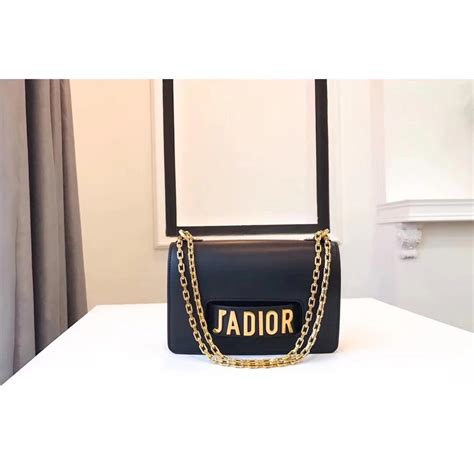 J Flap Bag With Chain Blue christian bags handbags totes wallets on sale