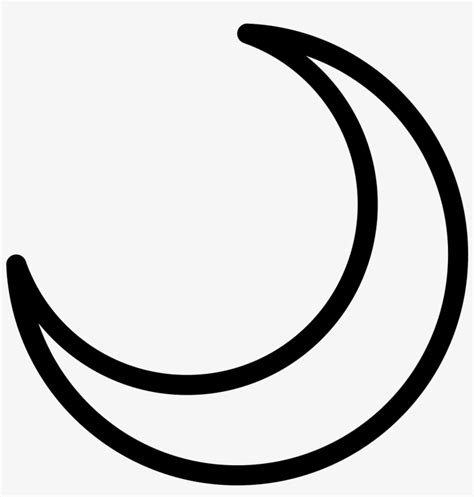 crescent moon png clip art black  white library moon