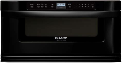 sharp 30 microwave drawer dimensions sharp kb6025mk 30 inch built in microwave drawer with 1 0