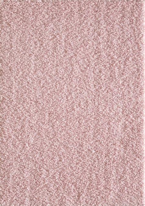 rond kleed 80 cm bol shaggy hoogpolig rond vloerkleed licht roze