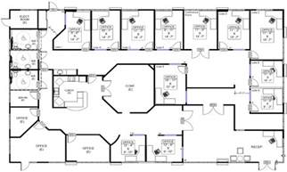 the floor plan of a new building is shown cool bedroom layouts commercial office building floor