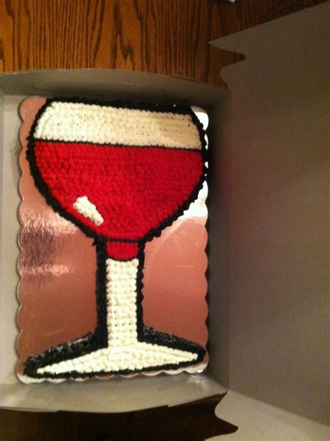 wine glass birthday wine glass birthday cake party ideas pinterest