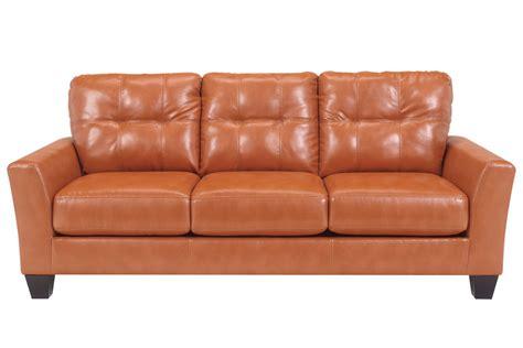odelia leather sofa at gardner white