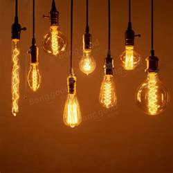 Chandelier Bulbs Led Vintage Edison Bulbs E27 40w 60w Ac 220v Incandescent Lamp