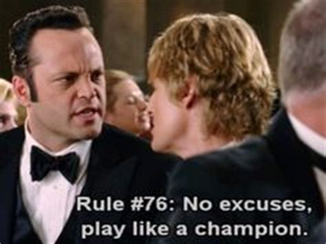 Wedding Crashers Rule Play Like A Chion by Quote Me On That Favorite Quotes On