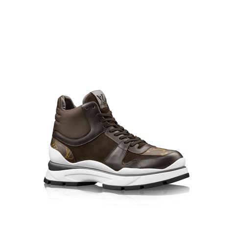 louis vuitton sneaker boot louis vuitton in motion sneaker boot in brown for lyst