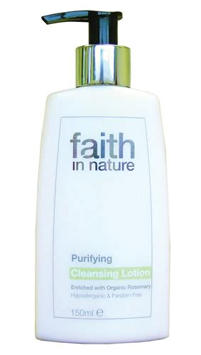 30 Day Faith Detox Review by Faith In Nature Purifying Cleansing Lotion 150ml Faith