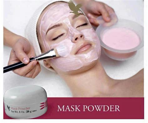 Masker Botox why botox when you forever mask powder foreverliving powder and masks