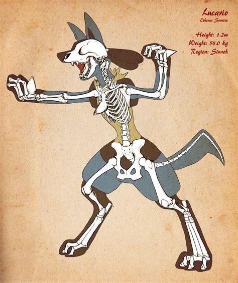 dog wallpaper spike and skull 10477 wallpaper walldiskpaper lucario skeleton v2 by chibi pika on deviantart