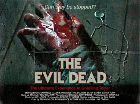 film evil dead 3 complet slasher movie posters quot the evil dead quot trilogy edition