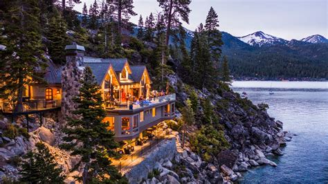 16000 sq ft nevada masterpiece with 525 on lake tahoe