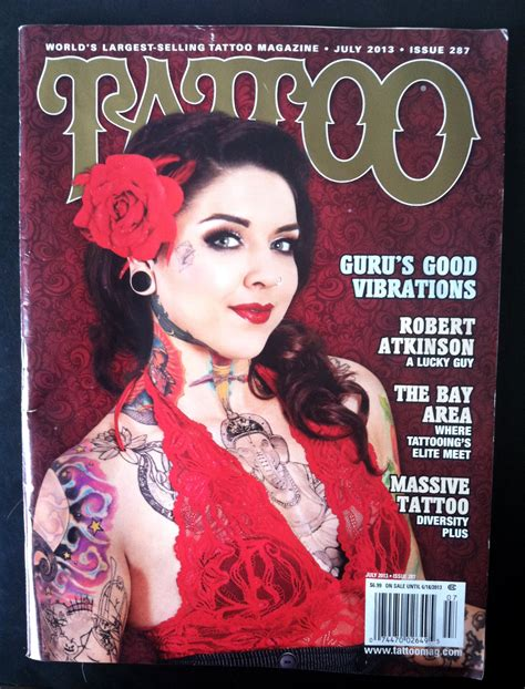 tattoos magazine magazine juy 13