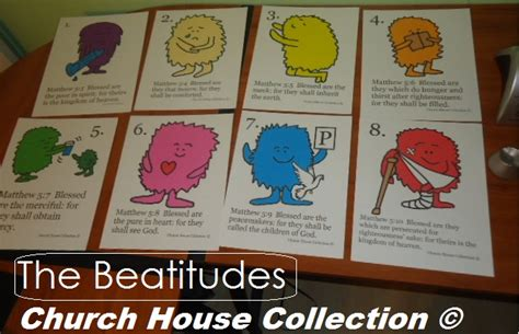 printable version of the beatitudes church house collection blog the beatitudes cards