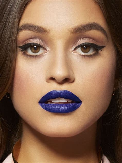 Lipstik Maybelline Color Blur how to wear blue lipstick for every skin tone maybelline