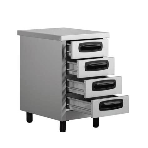Buy Kitchen Drawers by Inomak Stainless Steel 4 Drawer Unit Es764c Kitchen