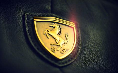 ferrari emblem ferrari logo wallpapers wallpaper cave
