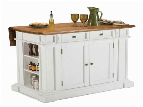 white kitchen island on wheels for the home