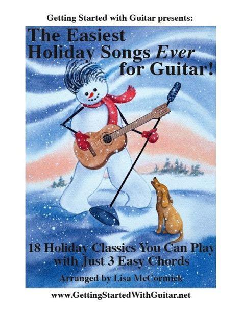 how to get starterd for chrismas easiest songs for guitar songbook news audiofanzine