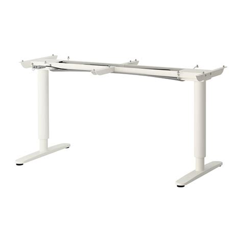 Ikea Standing Desk Legs Bekant Sit Stand Underframe For Table Top White Ikea