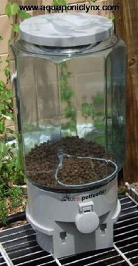 Catfish Feeders automatic fish feeders timers aquaponics aquaponic lynx llc