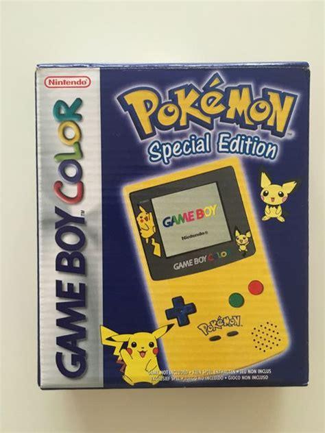 gameboy color colors limited edition nintendo boy gameboy color