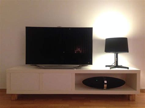 tv bench  lack shelf hiding devices  wires ikea