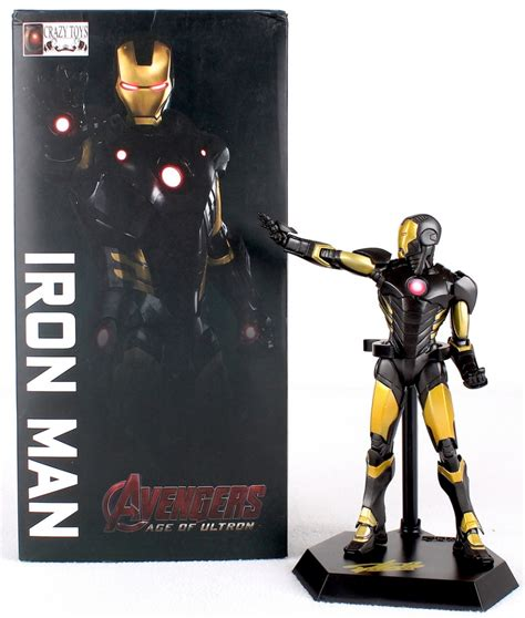 Cincin Ring Ironman Figure Box pristine auction