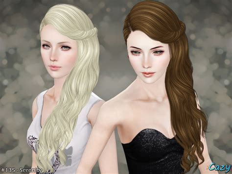 sims 3 hairstyle cheats cazy s serenity hairstyle t e