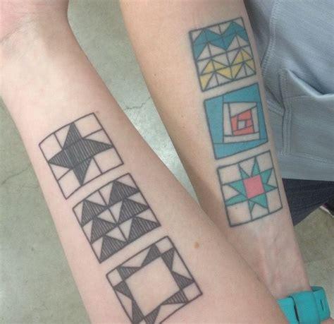 quilt pattern tattoo 39 best quilt tattoo images on pinterest quilt tattoo