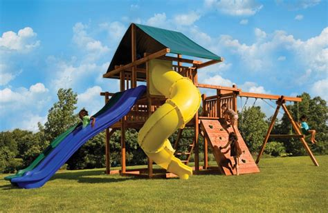 big lots swing sets a big backyard swing set with multiple slides high wire