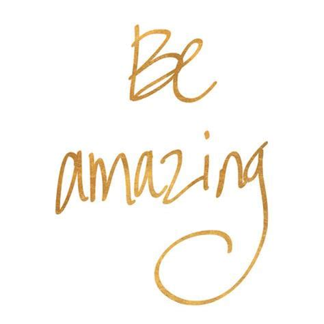 Teenage Wall Stickers Uk be amazing gold foil poster allposters co uk