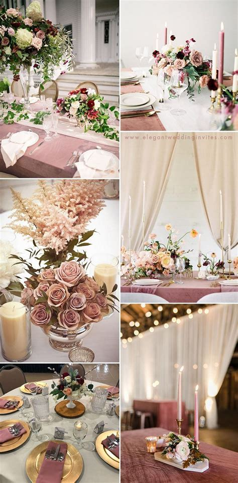 35 Trendy & Romantic All Time Dusty Rose Wedding Ideas