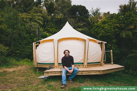 Living In A Lotus Belle Tent   Living Big In A Tiny House