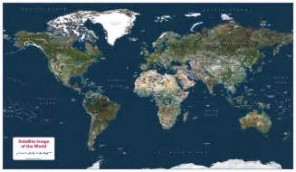 satellite map of the world 163 21 99 cosmographics ltd
