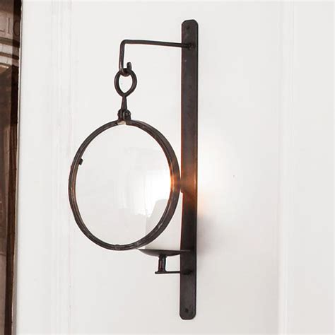 Iron Candle Wall Sconce Industrial Iron Wall Sconce