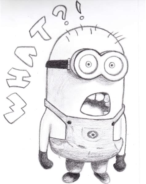 image gallery minion drawings