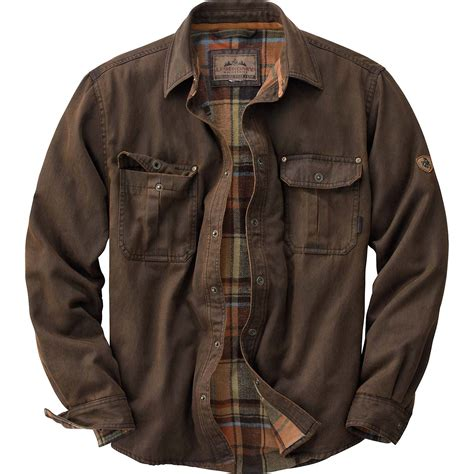 Rugged Mens Jacket by Legendary Whitetails S Journeyman Rugged Shirt Jacket